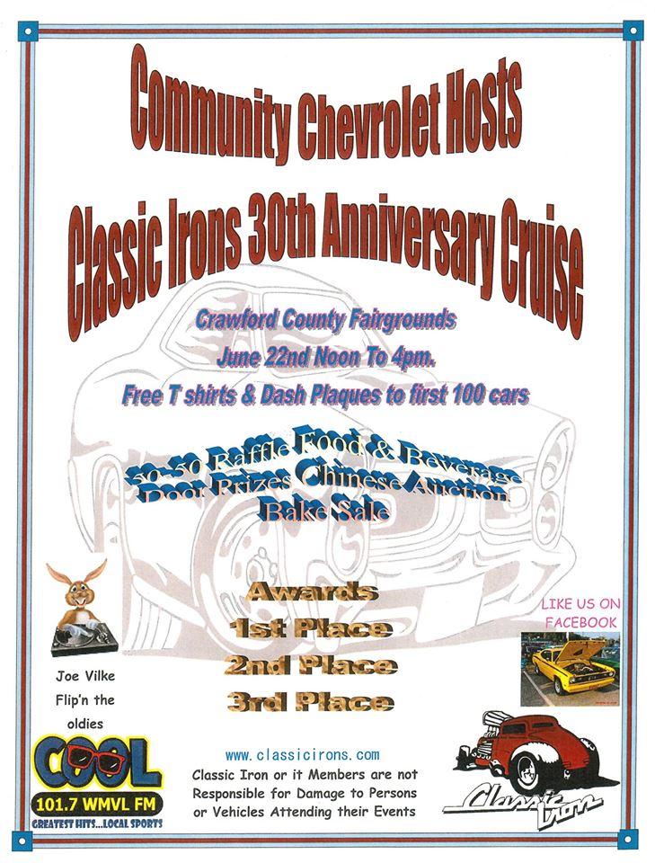 Community Chevrolet And Classic Irons Car Show Carcruisefinder Com
