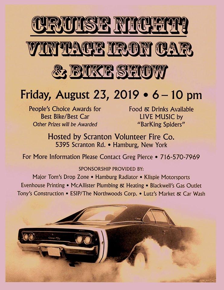 Cruise Night! Vintage Iron Car & Bike Show | CarCruiseFinder com