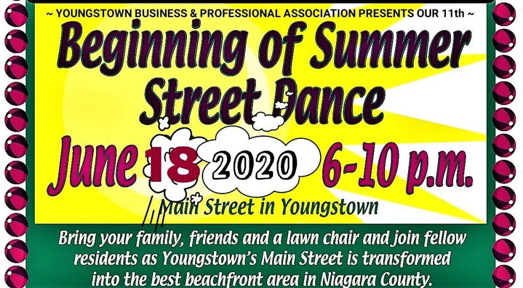 YBPA 11th Annual Beginning of Summer Street Dance & Car Show 2020